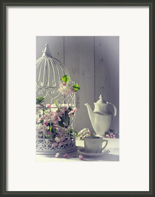 Vintage Afternoon Tea Framed Print By Christopher And Amanda Elwell