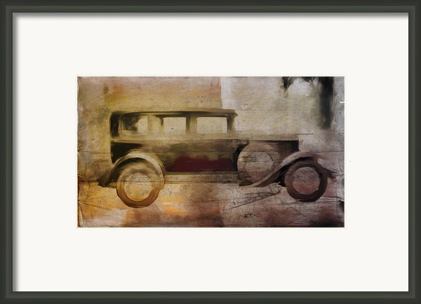 Vintage Buick Framed Print By David Ridley