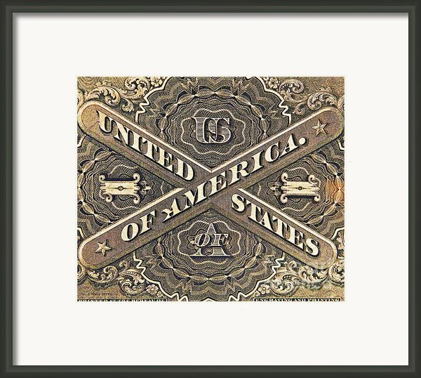 Vintage Currency  Framed Print By Chris Berry