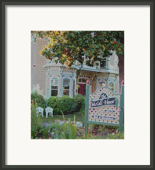 Vintage Inn Framed Print By Brooks Garten Hauschild
