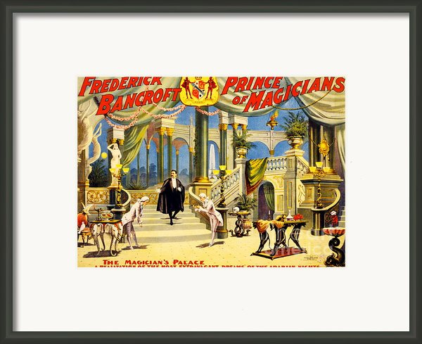 Vintage Nostalgic Poster - 8038 Framed Print By Wingsdomain Art And Photography
