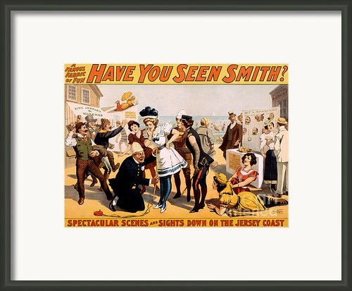 Vintage Nostalgic Poster - 8046 Framed Print By Wingsdomain Art And Photography