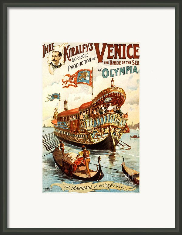Vintage Nostalgic Poster - 8050 Framed Print By Wingsdomain Art And Photography