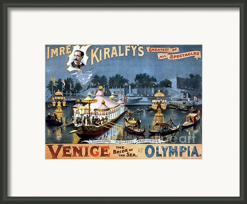 Vintage Nostalgic Poster - 8056 Framed Print By Wingsdomain Art And Photography
