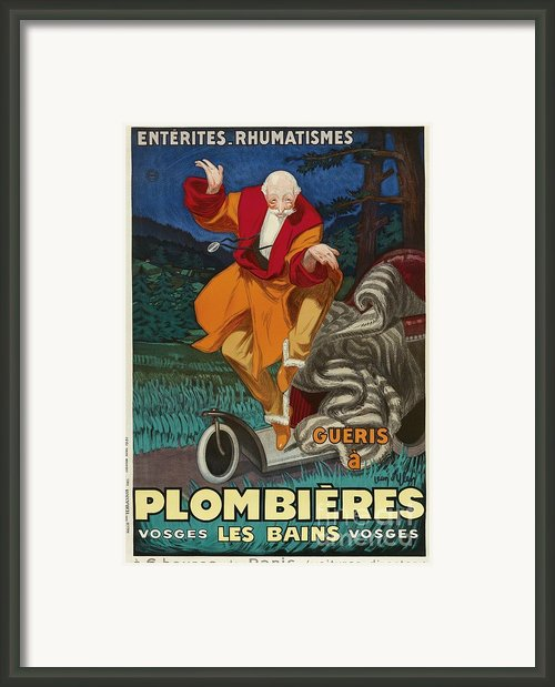 Vintage Nostalgic Poster - 8057 Framed Print By Wingsdomain Art And Photography