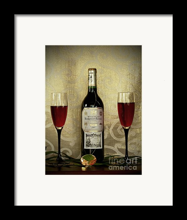 Vintage Wine Lovers Framed Print By Inspired Nature Photography By Shelley Myke