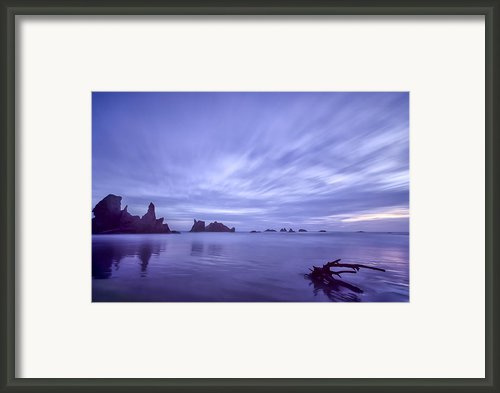 Violet Vista Framed Print By Jon Glaser