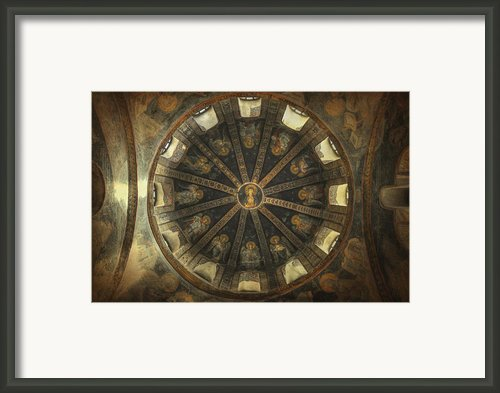 Virgin Mary Cupola Framed Print By Taylan Soyturk
