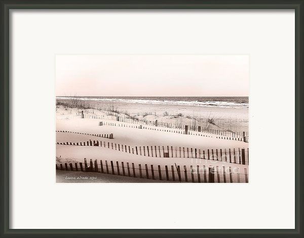Virgina Beach Vacation Memories Framed Print By Artist And Photographer Laura Wrede