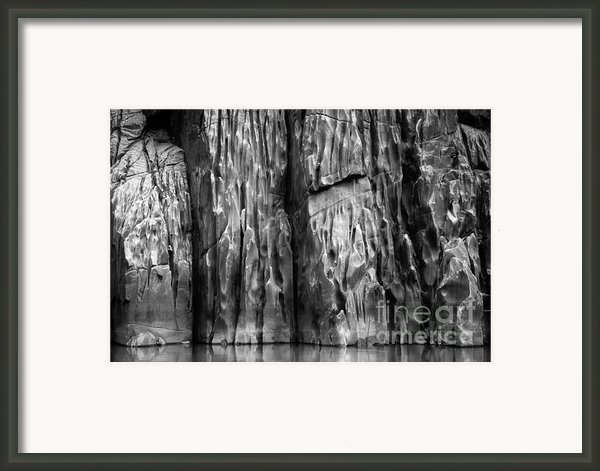 Vishnu Schist Framed Print By Inge Johnsson