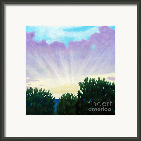 Visionary Sky Framed Print By Brian  Commerford