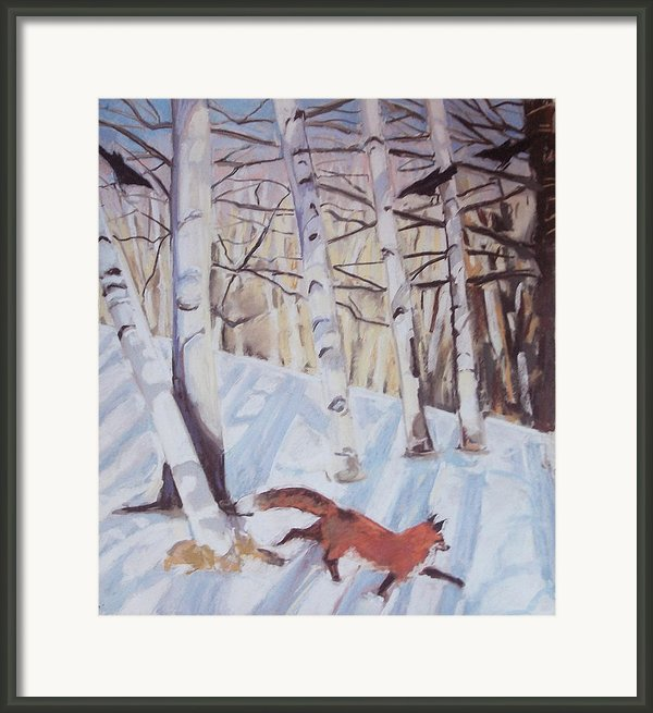 Visitor Framed Print By Grace Keown