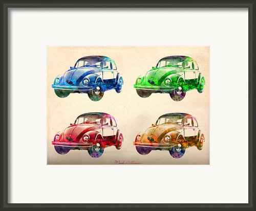Vw 2 Framed Print By Mark Ashkenazi