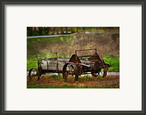 Wagon Framed Print By Marty Koch
