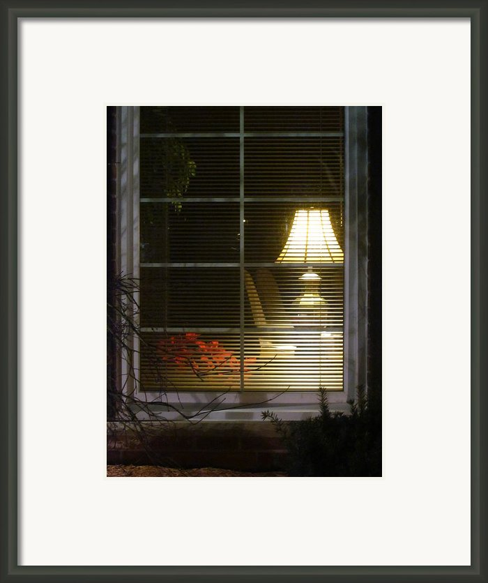 Waiting At The Window Framed Print By Guy Ricketts