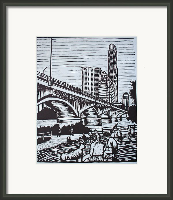 Waiting For The Bats Framed Print By William Cauthern