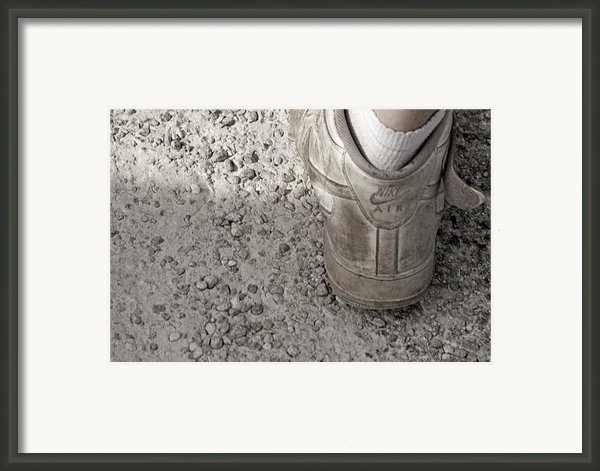 Walk This Way Framed Print By Kitty Ellis