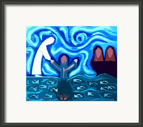 Walking On Water 3 Framed Print By Patrick J Murphy