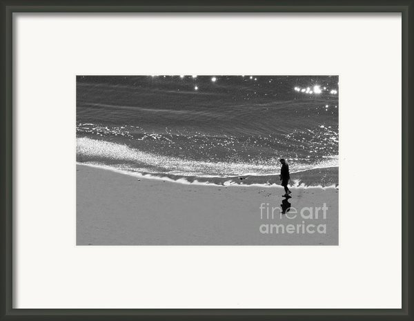 Walking With God Framed Print By Artist And Photographer Laura Wrede