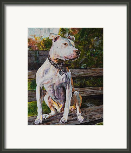 Wallace The Great Framed Print By Clara Yori