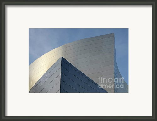 Walt Disney Concert Hall 3 Framed Print By Bob Christopher
