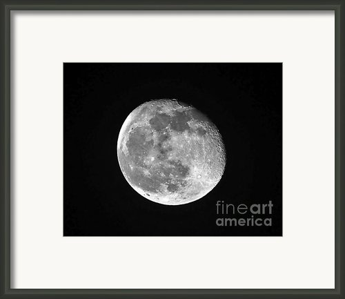 Waning Pink Moon Framed Print By Al Powell Photography Usa