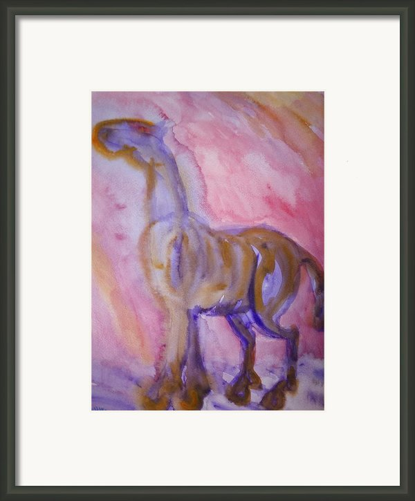 Want My Wings  Framed Print By Hilde Widerberg