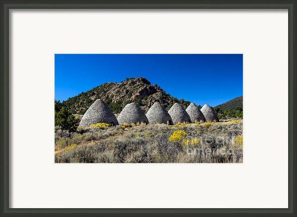 Wards Charcoal Ovens Framed Print By Robert Bales