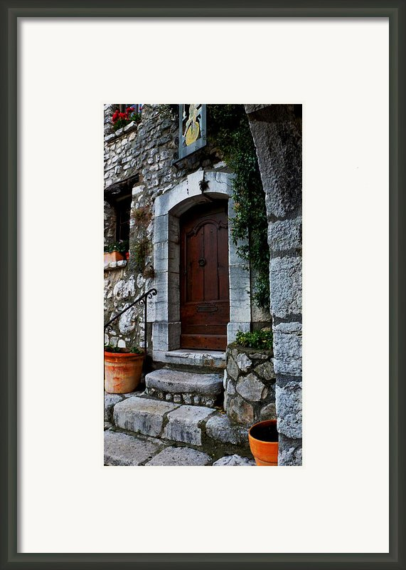 Warm Welcome Framed Print By Christine Burdine