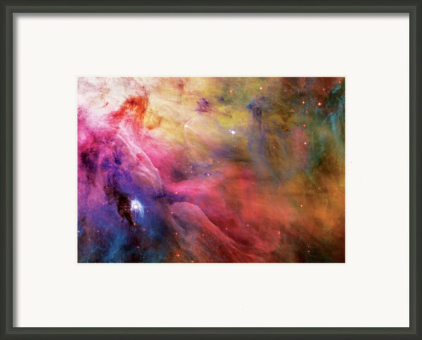 Warmth - Orion Nebula Framed Print By The  Vault