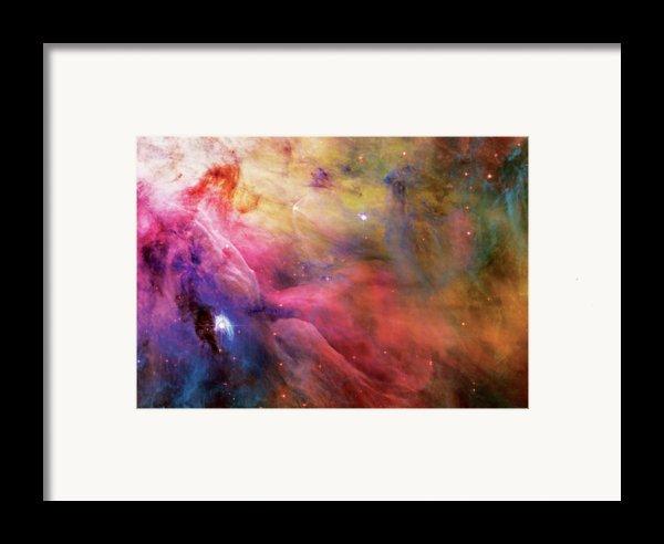 Warmth - Orion Nebula Framed Print By The  Vault - Jennifer Rondinelli Reilly