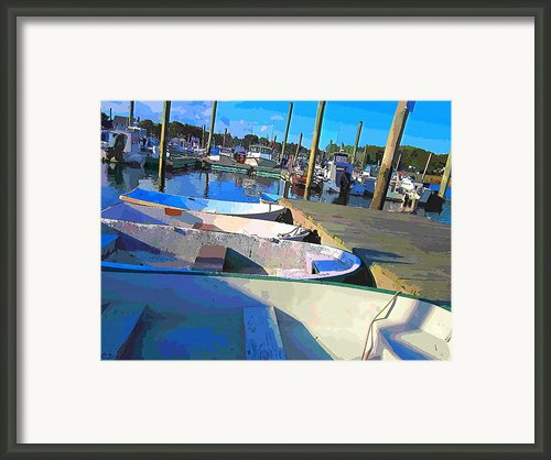 Warwick Marina Framed Print By Lourry Legarde