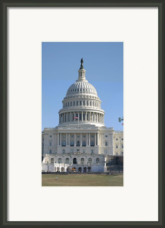 Washington Dc - Us Capitol - 01131 Framed Print By Dc Photographer
