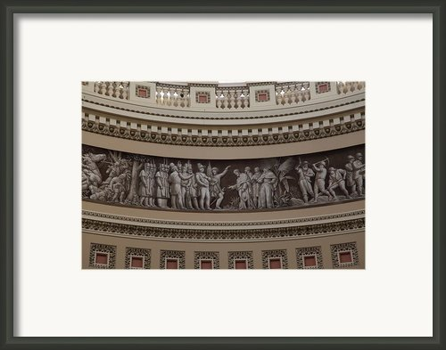 Washington Dc - Us Capitol - 011319 Framed Print By Dc Photographer