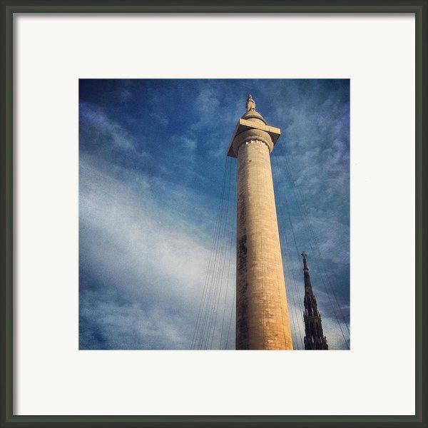 Washington Monument Framed Print By Toni Martsoukos