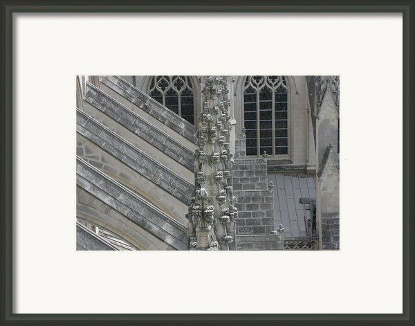 Washington National Cathedral - Washington Dc - 0113111 Framed Print By Dc Photographer