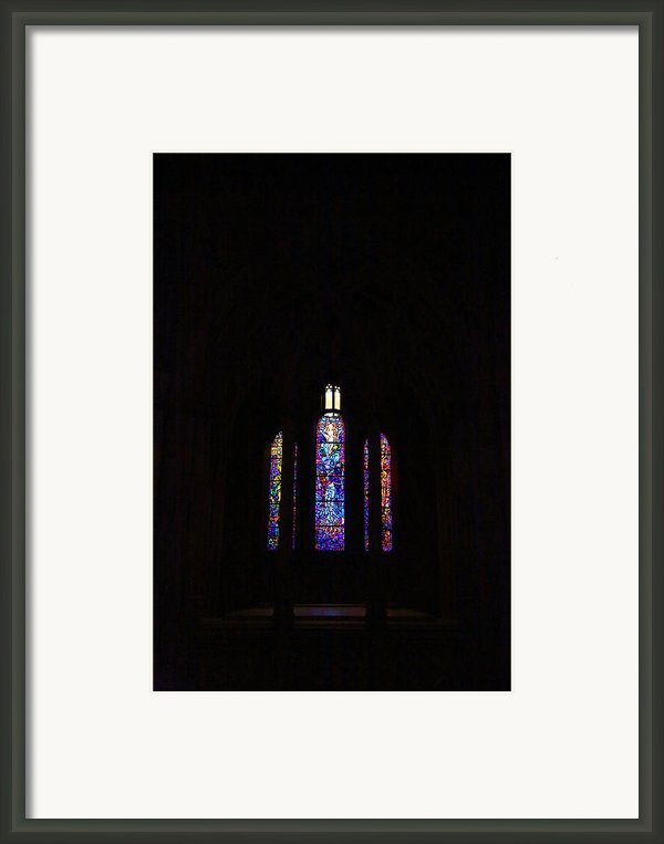 Washington National Cathedral - Washington Dc - 011334 Framed Print By Dc Photographer