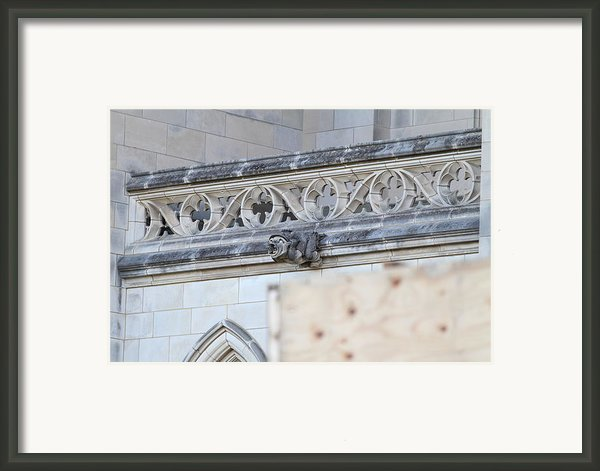 Washington National Cathedral - Washington Dc - 01134 Framed Print By Dc Photographer