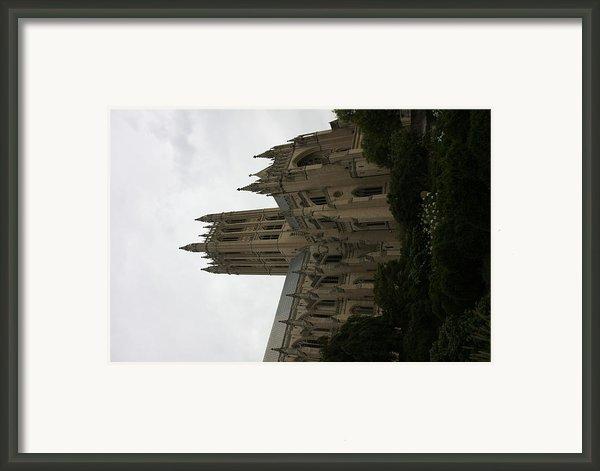 Washington National Cathedral - Washington Dc - 011351 Framed Print By Dc Photographer