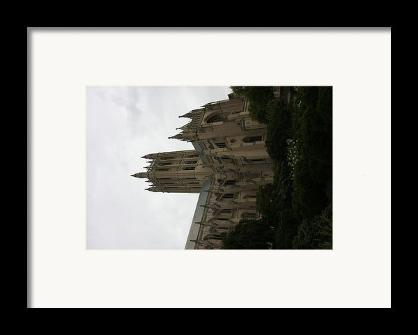 Washington National Cathedral - Washington Dc - 011351 Framed Print By Dc Photographer