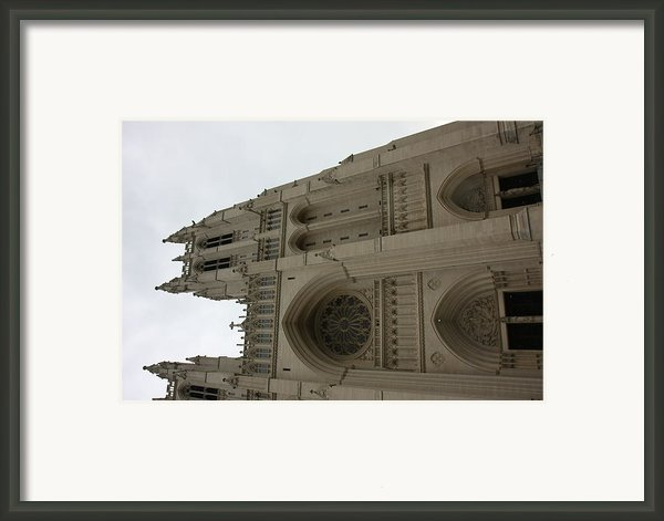 Washington National Cathedral - Washington Dc - 011355 Framed Print By Dc Photographer