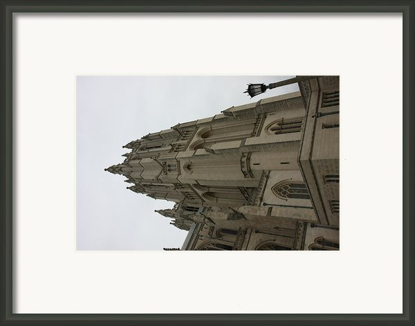 Washington National Cathedral - Washington Dc - 011367 Framed Print By Dc Photographer
