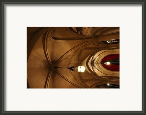 Washington National Cathedral - Washington Dc - 011374 Framed Print By Dc Photographer