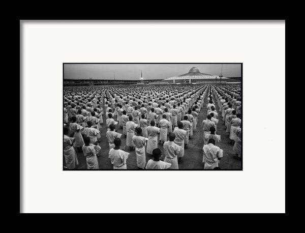 Wat Dhamma 1 Framed Print By David Longstreath
