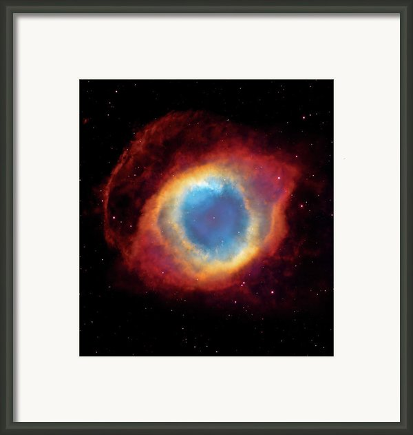 Watching - Helix Nebula Framed Print By The  Vault