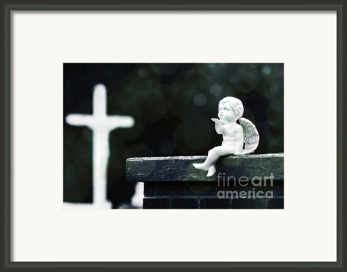 Watching Over Them Framed Print By Trish Mistric