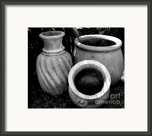 Water Jugs Framed Print By Mark Szep