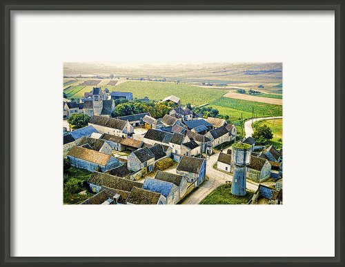Water Tower Framed Print By Chuck Staley