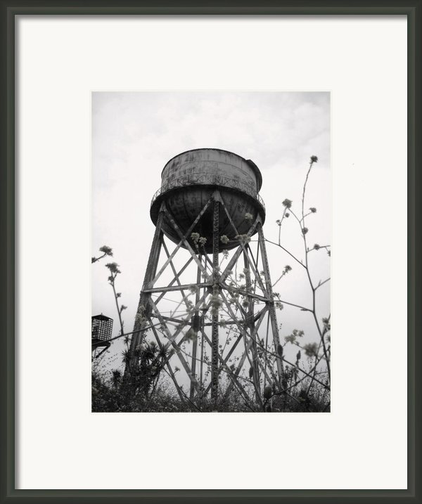 Water Tower Framed Print By Mike Grubb