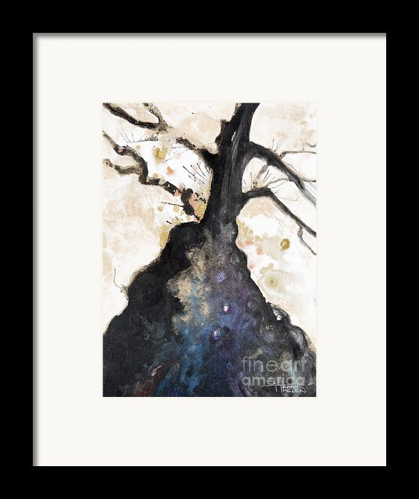 Watercolor Branches Framed Print By Tara Thelen